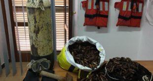 """Attività di contrasto alla pesca illegale del """"Dattero di mare"""". L'amministrazione ringrazia per il lavoro svolto"""