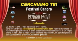 """Formia, fervono i preparativi per la seconda edizione del Festival Canoro """"Remigio Paone"""""""