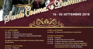Gaeta, si aprono i festeggiamenti per i SS.Cosma e Damiano con la benedizione del gonfalone (#Video)