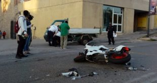 Gaeta, incidente sulla Flacca: Coinvolto un motociclo