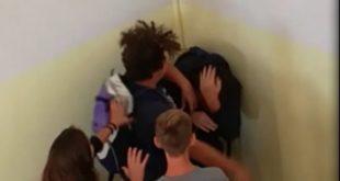 Preso a calci e pugni a scuola: episodio di bullismo a Formia (#VIDEO)