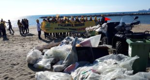 """""""Salviamo il nostro mare"""", Gianola libera dai rifiuti (#foto-#video)"""