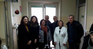 La LILT Gaeta/Sudpontino con il Vescovo Vari incontra utenti e personale del Servizio oncologico del Dono Svizzero di Formia