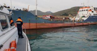"""Incendio a bordo del """"Sindaco Malvito"""", esercitazione al porto di Gaeta (#foto)"""