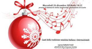Gaeta, Il concerto 'Natale nel cuore' Canti della tradizione natalizia a favore dei bambini del Centro Laila