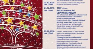 """Trivio piazza sant'Andrea""""Gliù foco alla piazza"""" 158° edizione"""