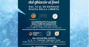 """""""Sculture e Fornelli"""": dal ghiaccio al food, presentati i tre grandi eventi che chiuderanno la terza edizione di """"Favole di Luce"""""""