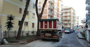 Gaeta, iniziati i lavori di restyling in Via Madonnella