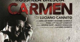 """Teatro Ariston Gaeta – lunedi 21 Gennaio ore 21.00: Rossella Brescia in """"Carmen"""""""
