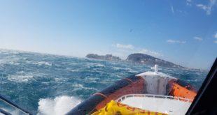 Tempesta in mare: la Guardia Costiera di Gaeta salva due diportisti (#Foto-#Video)