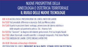 Nuove prospettive della ginecologia e ostetricia territoriale, incontro a Formia