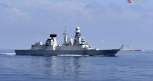 La Marina Militare ambasciatrice d'eccellenza alla 12ª edizione della Med Blue Economy con nave Caio Duilio