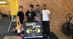 4 atleti del CrossFit Formia agli Internazionali di Roma