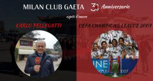 Gala dei 30 anni del Milan Club Gaeta tra simboli e sorprese
