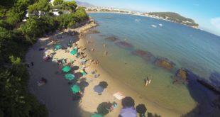 A spasso nel Golfo: La spiaggia di Fontania