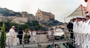 30 anni fa Giovanni Paolo II nell'Arcidiocesi di Gaeta