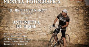 """""""Il Bicicletterario"""", personale di Antonietta De Biase"""