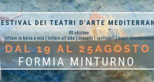A Formia e Minturno il  Festival dei Teatri d' Arte Mediterranei