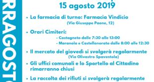 Ferragosto a Formia, le ordinanze e le info utili