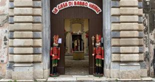 Luminarie di Gaeta, la casa di Babbo Natale nel Villaggio Incantato (#foto-#video)