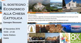 Gaeta, convegno sul sostegno economico alla Chiesa cattolica