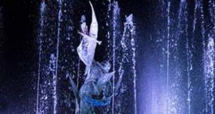 Gaeta, la fontana di San Francesco si illumina di blu per la giornata mondiale del diabete