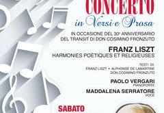 Gaeta, concerto per Don Cosimino Fronzuto
