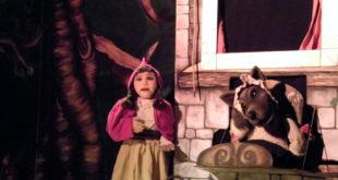 """Famiglie a teatro, """"Cappuccetto Rosso"""" al Bertolt Brecht di Formia"""