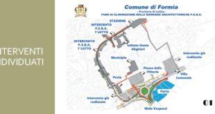 Piano di Eliminazione Barriere Architettoniche, l'incontro a Formia