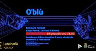 "Luci e musica a Formia: ""O' Blù – Pino Daniele"""
