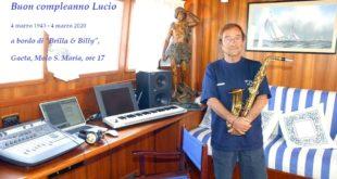"""Gaeta, ricordando Lucio Dalla a bordo del suo yacth """"Brilla & Billy"""""""