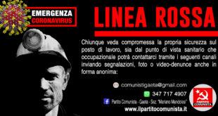 """Emergenza coronavirus: """"linea rossa"""" del pc in soccorso dei lavoratori"""