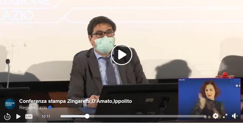 Coronavirus D Amato Oggi Nel Lazio Si Registrano 165 Casi Di Questi 86 Sono A Roma E Zero Decessi Gazzettino Del Golfo