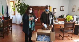 Formia, quasi 500 mascherine consegnate in due giorni