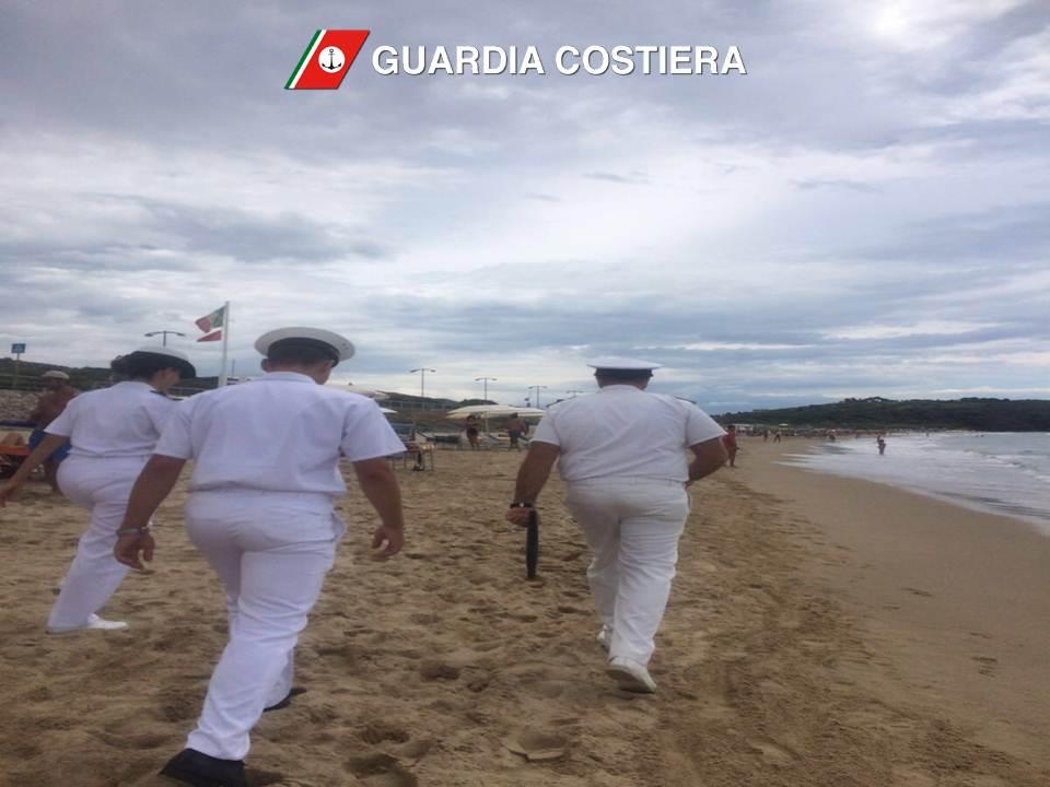 Guardia Costiera, contrasto all'abusiva occupazione del demanio marittimo. Sanzioni a Gaeta, Scauri e Sperlonga