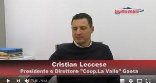 Il Golfo si Racconta incontra Cristian Leccese Presidente della Coop. La Valle
