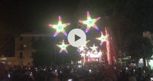 Luminarie di Gaeta 2018, è partita la terza edizione delle Favole di Luce (#foto-#video)
