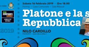 Platone e la Sua Repubblica, a Formia il Filosofo Nilo Cardillo