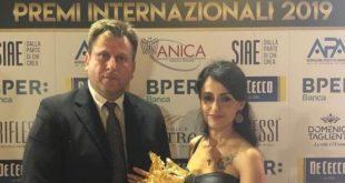 """""""Pegaso d'oro, Premio speciale della Presidenza"""" alla regista originaria di Gaeta Stefania Capobianco e al regista Francesco Gagliardi"""