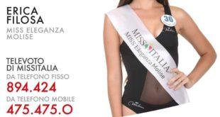 Miss Italia 2019, tra le 80 finaliste anche la formiana Erica Filosa