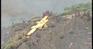 Gaeta incendio a le Vignole, in fumo 35 ettari di vegetazione