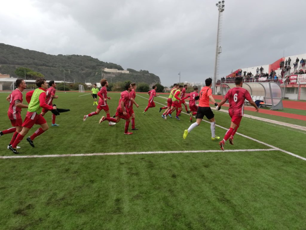 Il Gaeta fa suo il derby del golfo: decide Mariniello - gazzettinodelgolfo.it