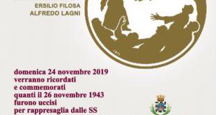 """Formia, 76° commemorazione """"Eccidio della Costarella"""""""
