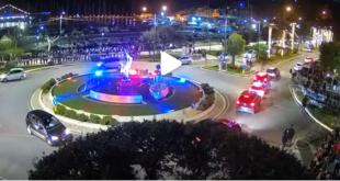 Luminarie di Gaeta, webcam sulla Fontana di S.Francesco: Segui live lo spettacolo