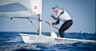 XXI Semana Olímpica Canaria de Vela, atleta delle Fiamme Gialle di Gaeta secondo nei laser