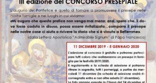 """Gaeta, III edizione concorso """"Il Presepe in Famiglia"""""""