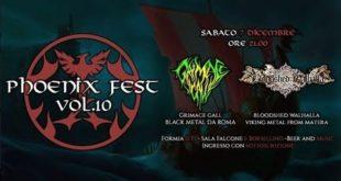 Phoneix Fest: in arrivo cinque concerti metal