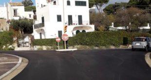 Gaeta, divieto di transito in Via Fontania