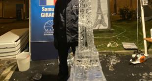 Gaeta, il francese Samuel Girault vince il Campionato Mondiale Scultori di Ghiaccio (#foto- #video)