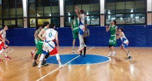 Serie C silver. Il Basket Serapo si arrende in volata alla Uisp Roma
